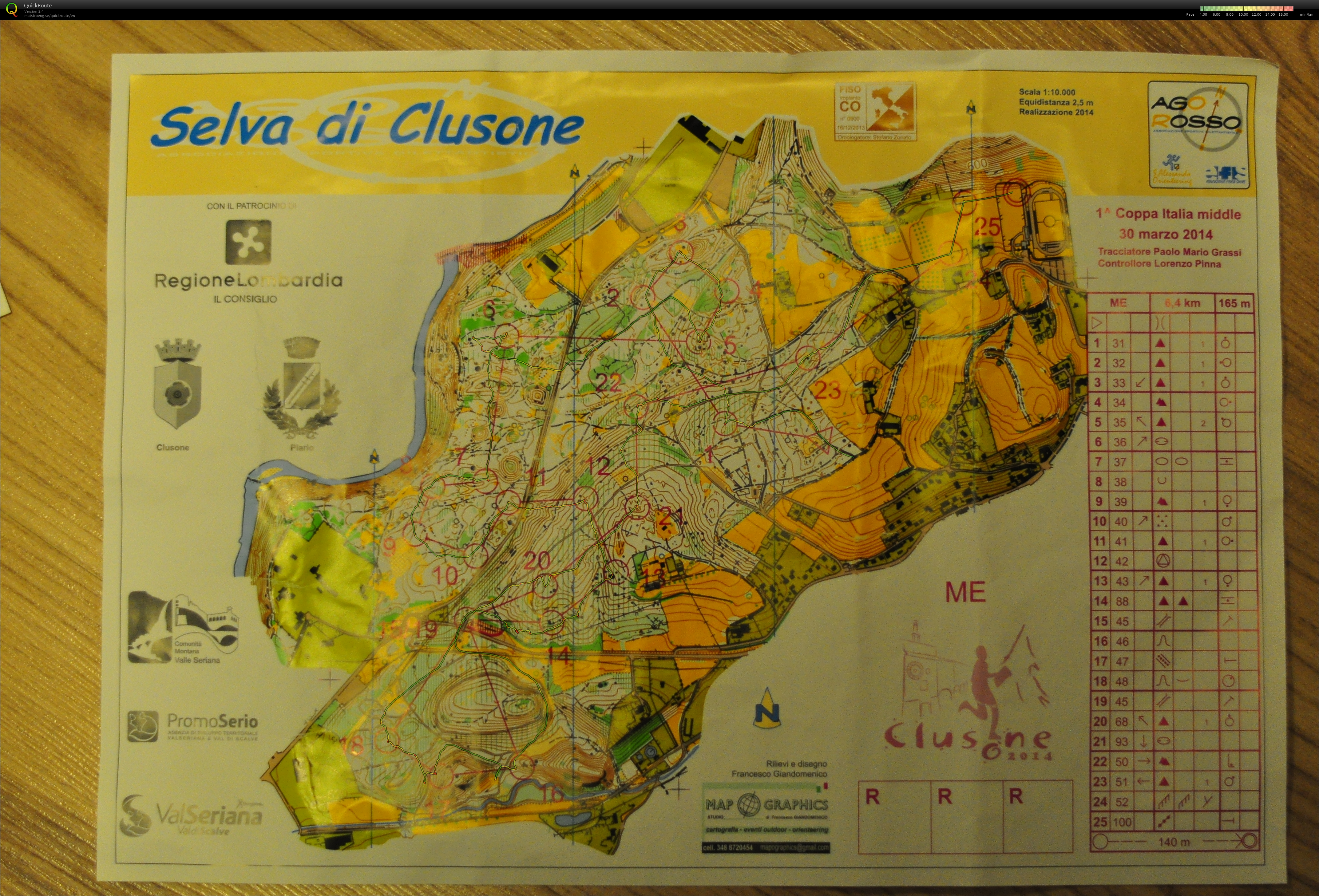 Clusone, second day (30/03/2014)